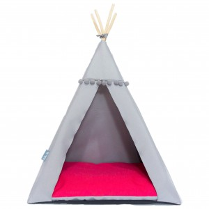 Pet bed TIPI bed – Raspberry