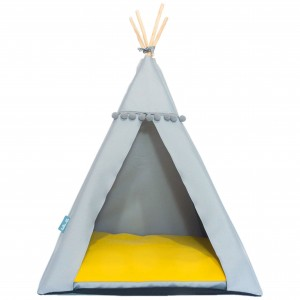 Pet bed TIPI bed – Yellow