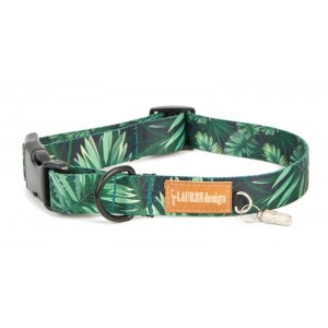 Collar for dog - forest