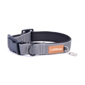 Collar for dog gray
