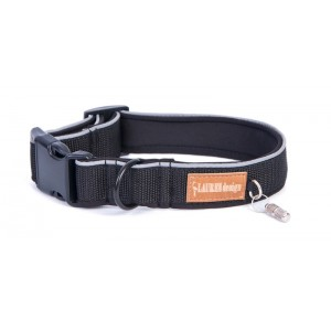 Collar for dog black