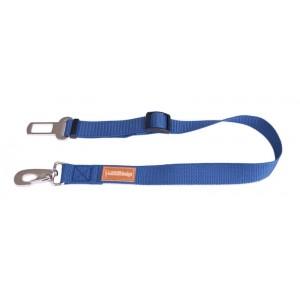 Dog safety belt - blue