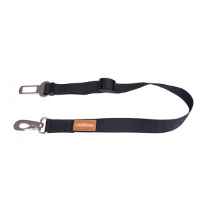 Dog safety belt - black