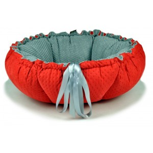 Pet bed  DAISY - red