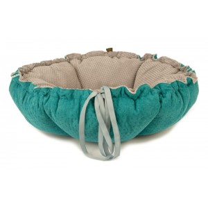 Pet bed  DAISY - turquoise