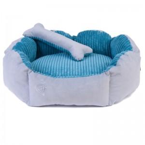 Pet bed DIANA - petrol blue