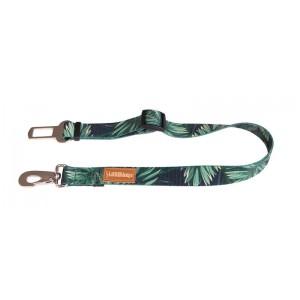 Dog safety belt - forest