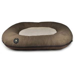 Dog bed PONTON RICO - brown