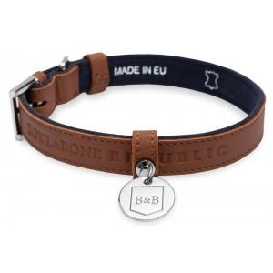 Leather dog collar MONACO...