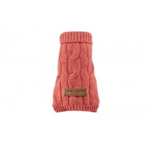 Dog sweater ASPEN pink