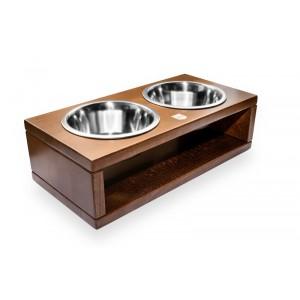 DELI amber dog bowl