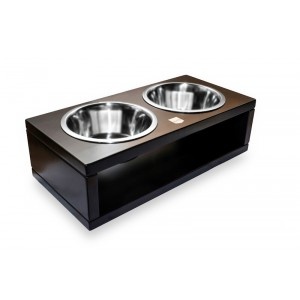 DELI chestnut dog bowl