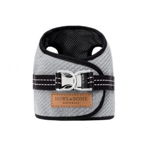 Dog harness SOHO gray