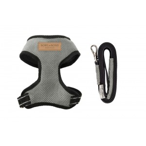 Dog harness CANDY gray