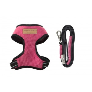 Dog harness CANDY pink