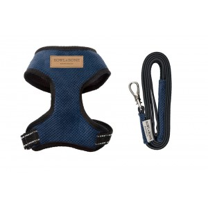 Dog harness CANDY blue
