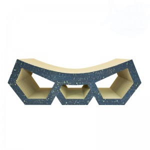 Cat scratcher DIAMOND navy...