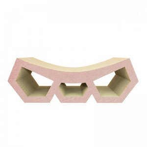Cat scratcher DIAMOND pink