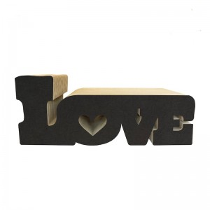Cat scratcher LOVE black