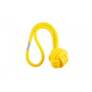 BULLET yellow dog toy