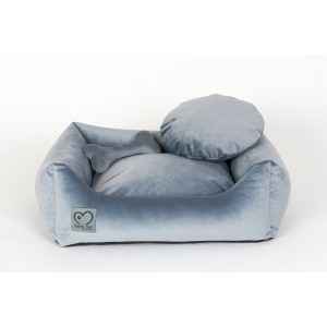 Pet bed Luxuary Silver Dust