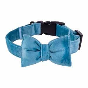 Bow tie for dog blue