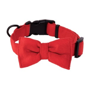 Bow tie for dog red