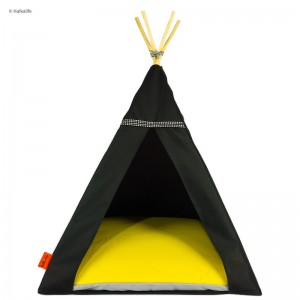 TIPI bed Glamour – yellow
