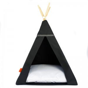 TIPI bed Glamour – white