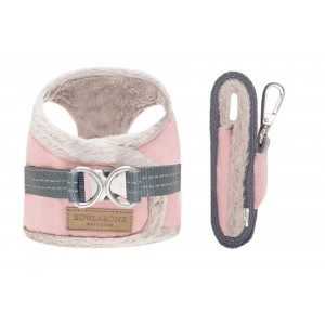 Dog harness YETI rose