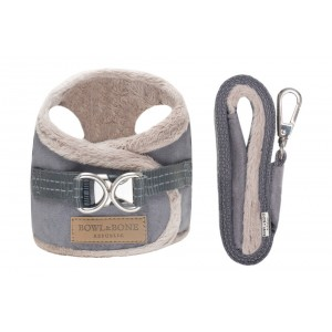 Dog harness YETI gray