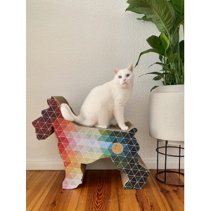 Colour Paperdog scratcher