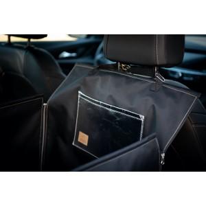 "Car mat ""DENGU"" – BLACK&SILVER"