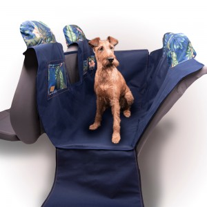 """Car mat for a dog """"KUKO+"""" RAINFOREST"""