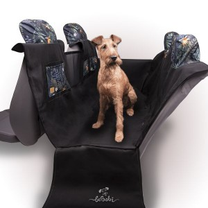 """Car seat cover for a dog """"KUKO+"""" PARADISE"""