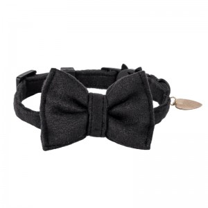 Bow tie for cat - black
