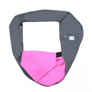 Dog carrier bag/ sling PINKI