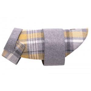 Tweed dog coat LEAF gray