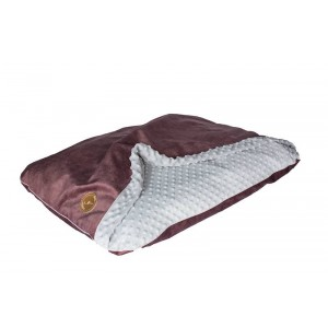Dog bed Mink NEL maroon