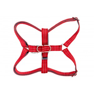 Dog harness ACTIVE red