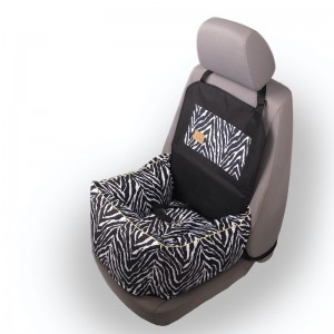 ERO SOFT Zebra dog car seat
