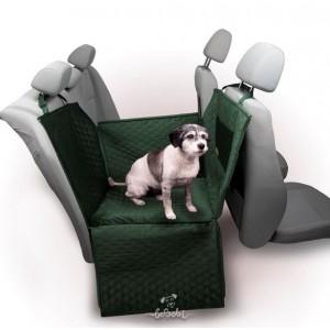 "Car seat cover ""DENGU"" soft green"